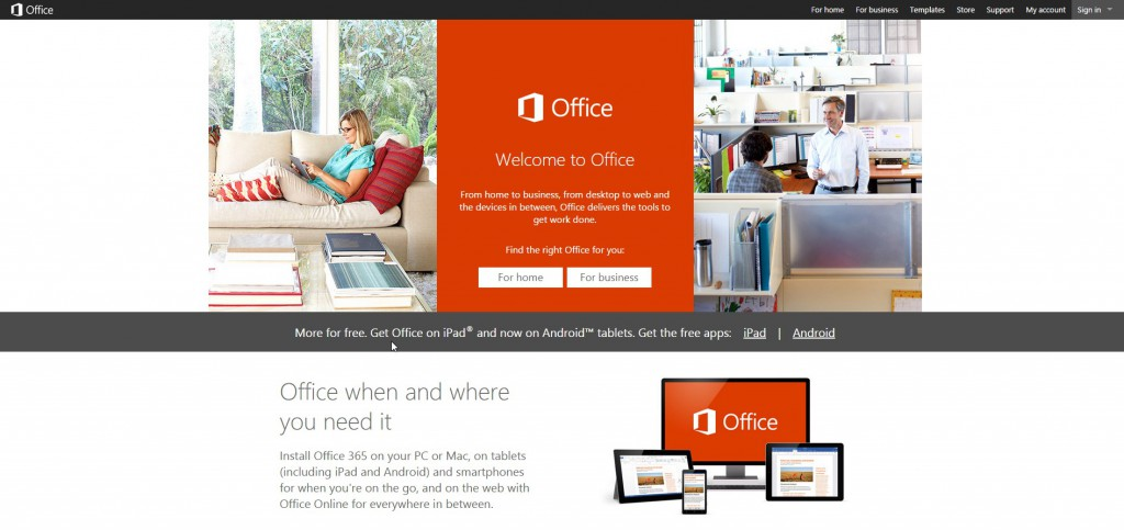Office.Microsoft.Com login portal